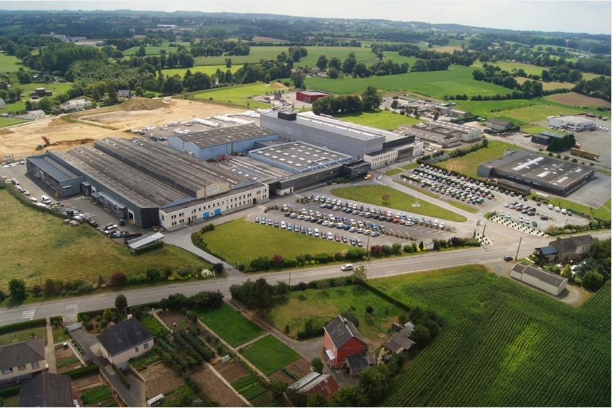 Production site in Gorron, France