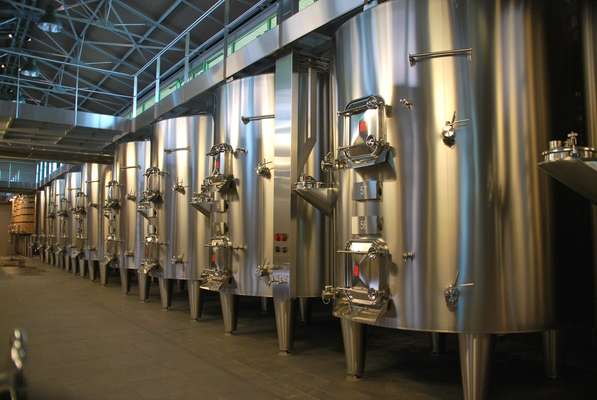 Wine Processing Compartmented Tank The Serap Group