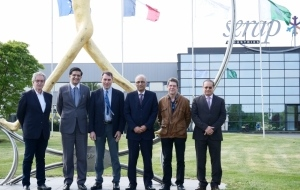 SERAP GROUP : Visit of the Ambassador of Pakistan at its headquarter in Gorron, France
