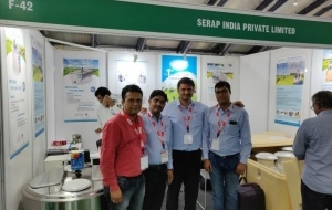 SERAP INDIA at the Dairytech 2018, the International exhibition on dairy products